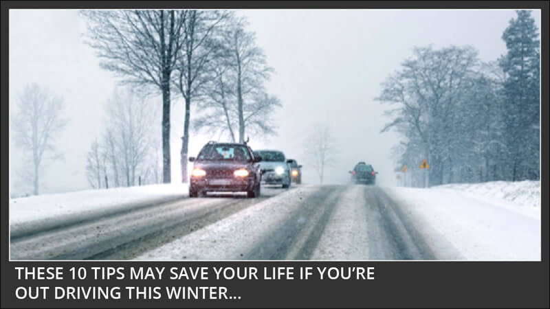 10 winter weather driving tips