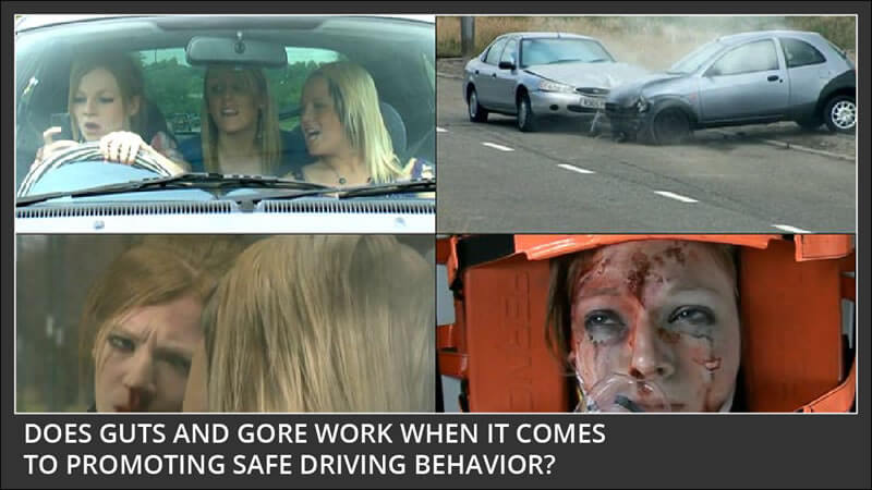 Are Violent Road Safety Ads More Effective or Less Effective