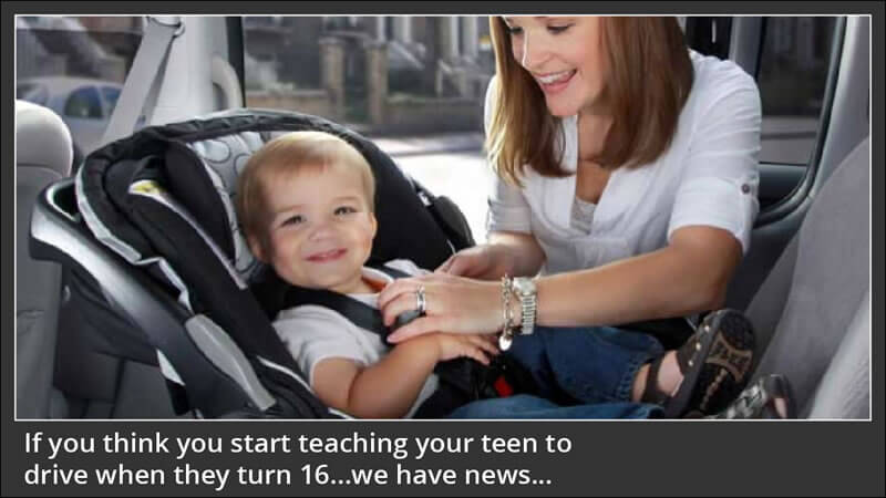 Good Driving Habits Start in the Car Seat