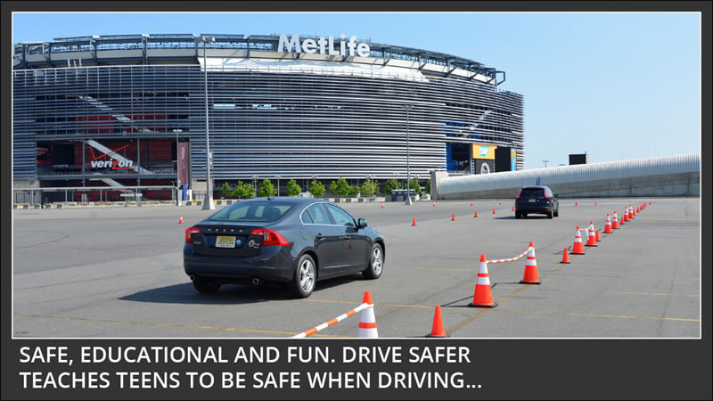 drive safer teaches teens to be safe when driving - safe educational fun