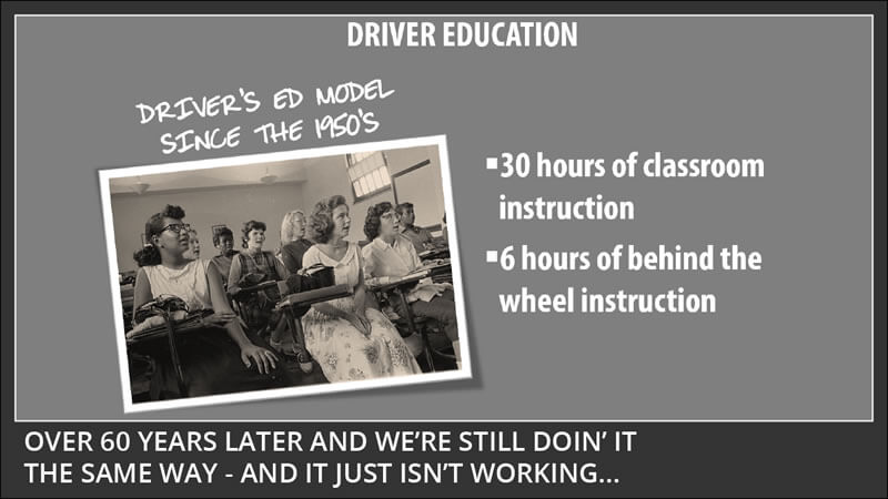 driver education is not enough to keep teen drivers safe behind the wheel