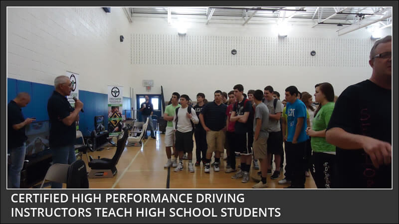 monroe high school has drive safer certified high performance driving instructors teach teens