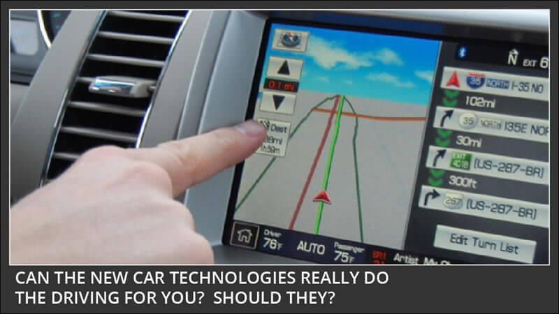 new car technologies - friend foe or I dont know