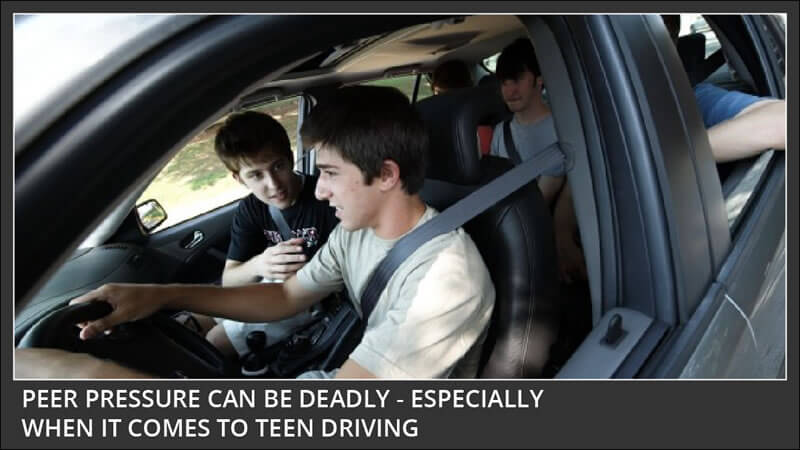 peer pressure and teen driving